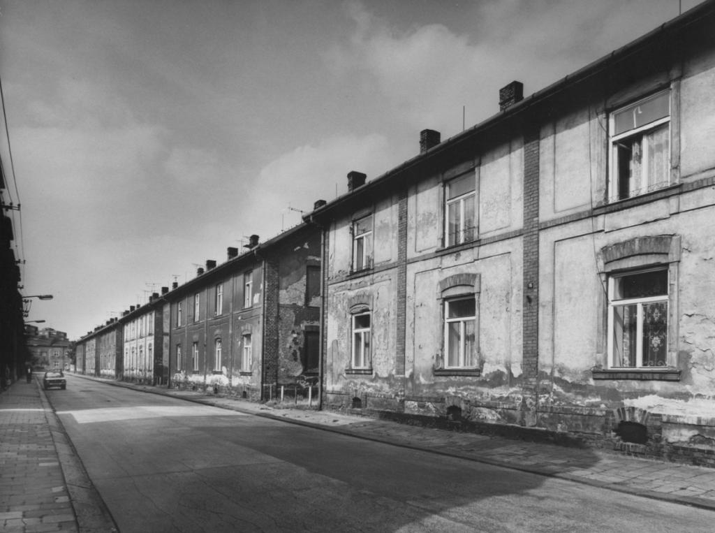 Horní kolonie v Mariánských Horách, 80. léta 20. století.